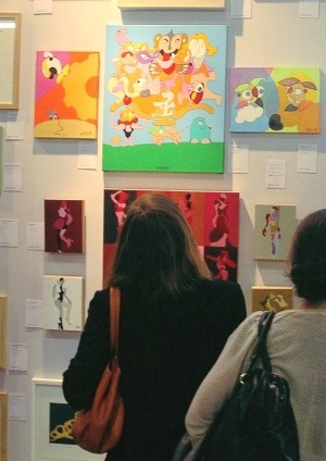 affordable art fair aaf paris 2010 eric bourdon