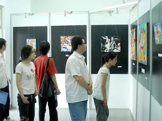 exhibition university hebei china eric bourdon