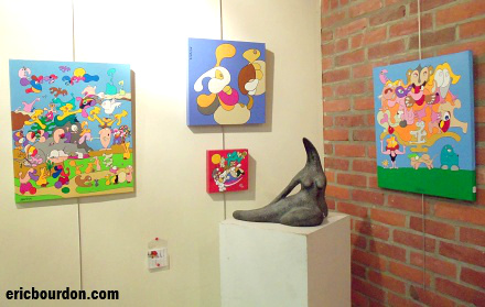 Universal Art and Creation - Exhibit 2013 - Eric Bourdon