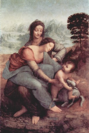 The Virgin and Child - Leonardo da Vinci