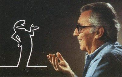 Osvaldo Cavandoli Italian cartoonist