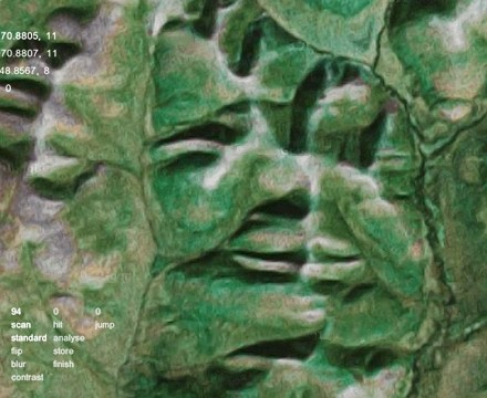 face tracking Earth