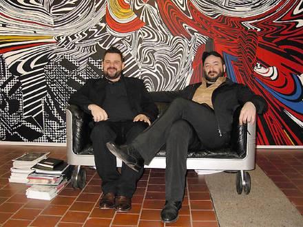 George Vamvakidis and Stathis Panagoulis of The Breeder Athens