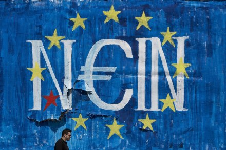 Greece Bailout Graffiti Nein