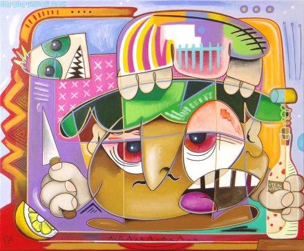 sauteed-fish-painting-eric-bourdon
