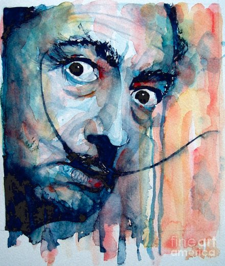 salvador dali paul lovering watercolor 440 eric bourdon
