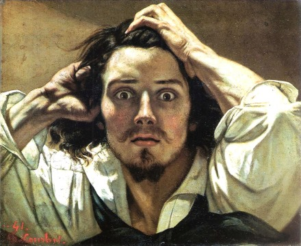 gustave courbet the desperate man self-portrait 440 eric bourdon
