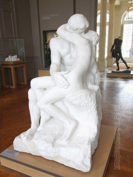 the kiss auguste rodin eric bourdon